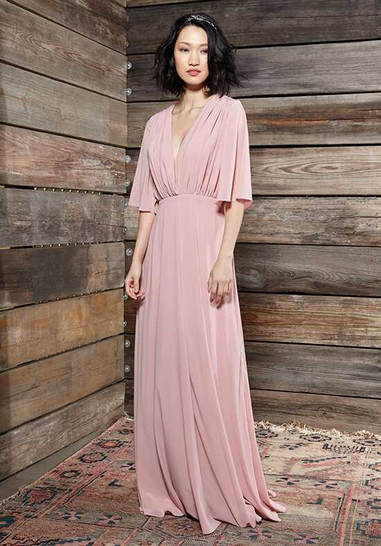 Ivy & Aster Bridesmaids Geraldine V-Neck Bridesmaid Dress