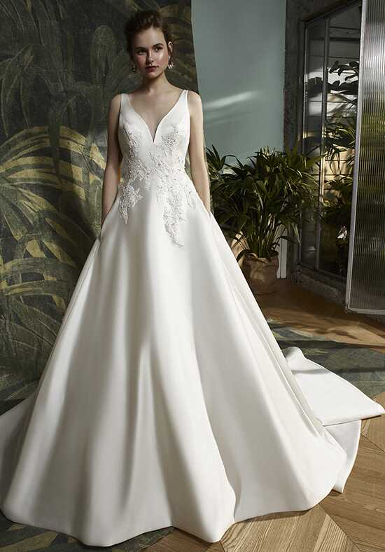Blue by Enzoani Karlie A-Line Wedding Dress