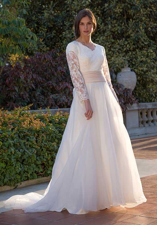 Venus Modest TB7760 Ball Gown Wedding Dress