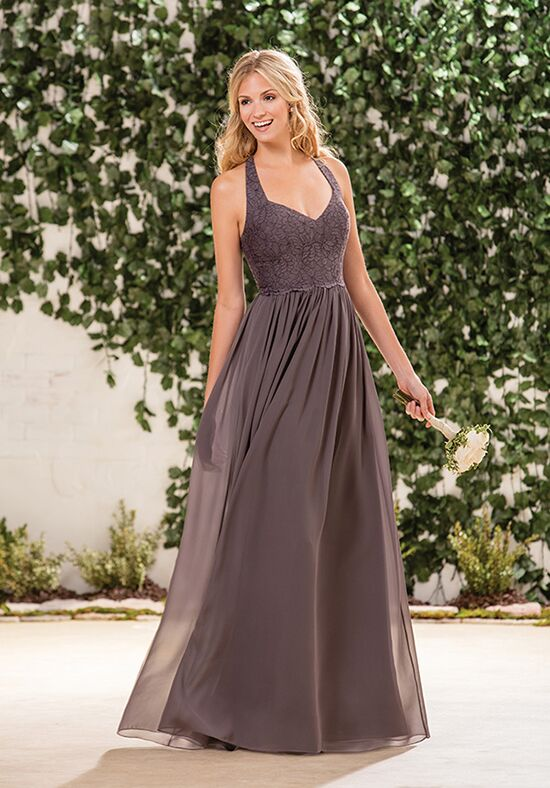 B2 by Jasmine B183061 Halter Bridesmaid Dress