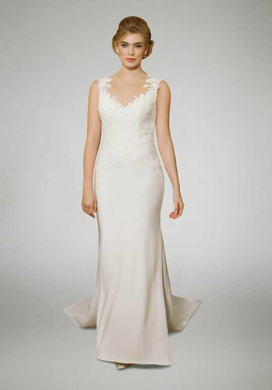 Matthew Christopher Brooke Sheath Wedding Dress
