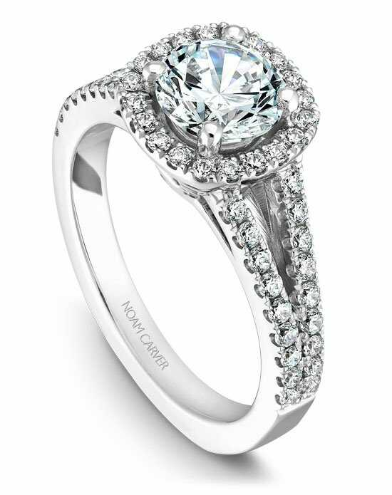 Noam Carver B015-01WS-100A Engagement Ring photo