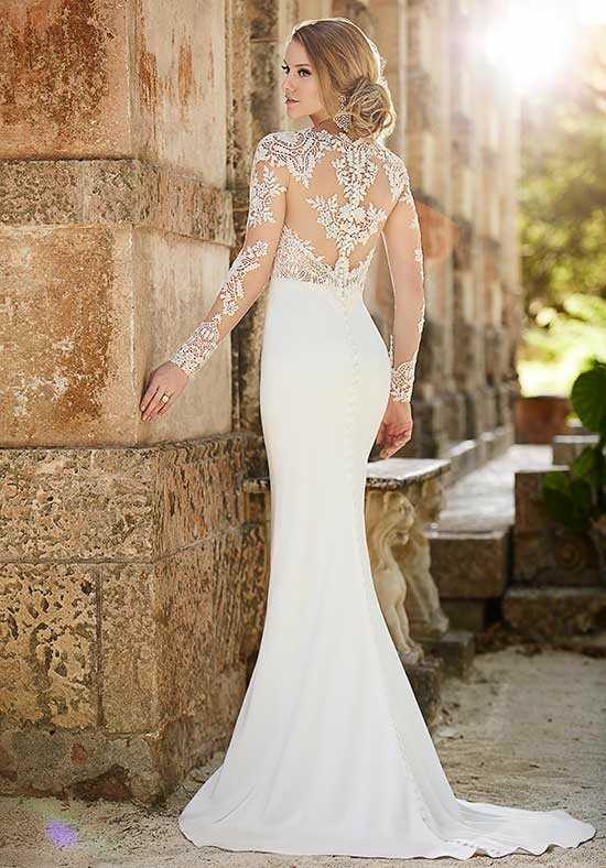 Martina Liana 690 Sheath Wedding Dress