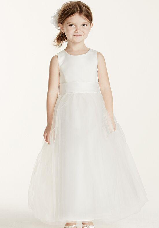 Flower Girl Dresses Davids Bridal White : David s bridal flower girl dress the knot