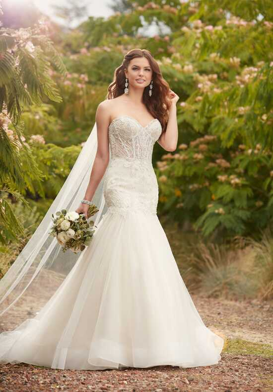 Essense of Australia D2279 Mermaid Wedding Dress