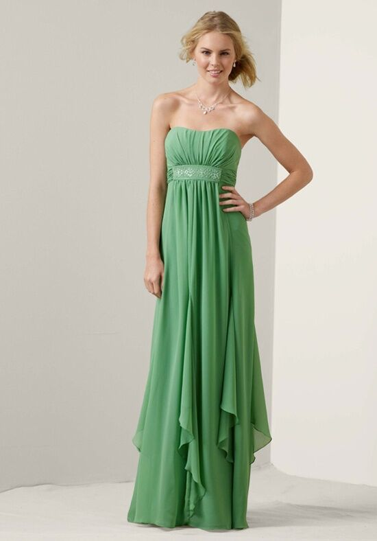David's Bridal Collection F14865 Strapless Bridesmaid Dress