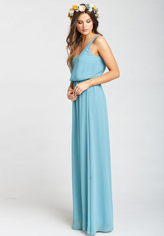 Show Me Your Mumu Kendall Maxi Dress - Poolside Chiffon Bridesmaid ...
