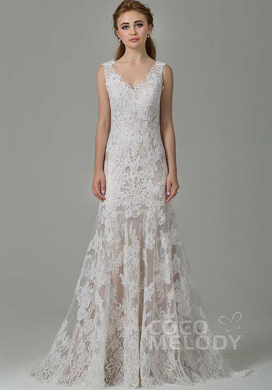 CocoMelody Wedding Dresses CWXT14061 Sheath Wedding Dress