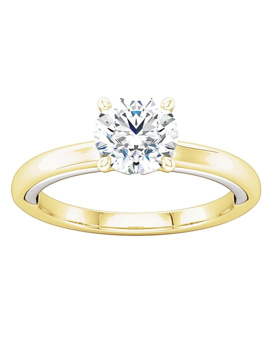 ever&ever Classic Round Cut Engagement Ring