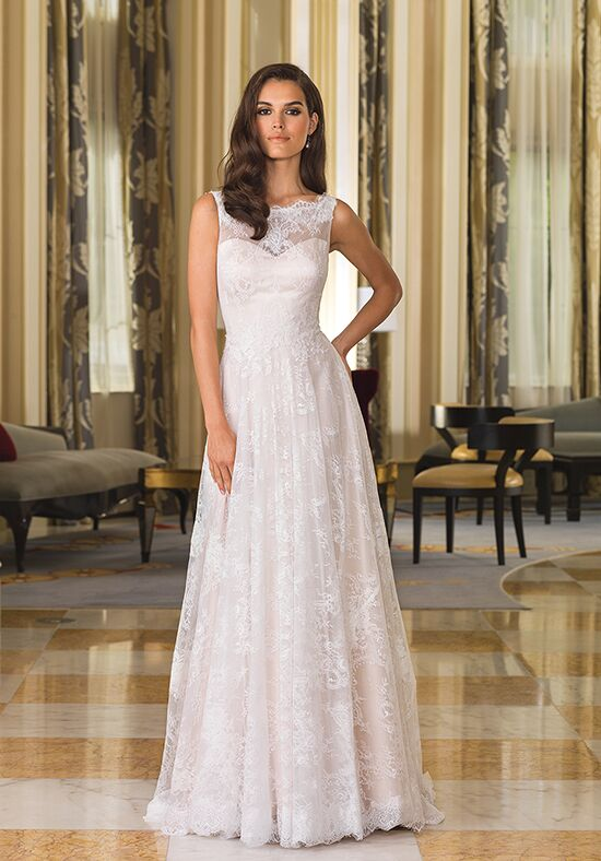 Justin alexander 8857 wedding dress the knot for How do you preserve a wedding dress