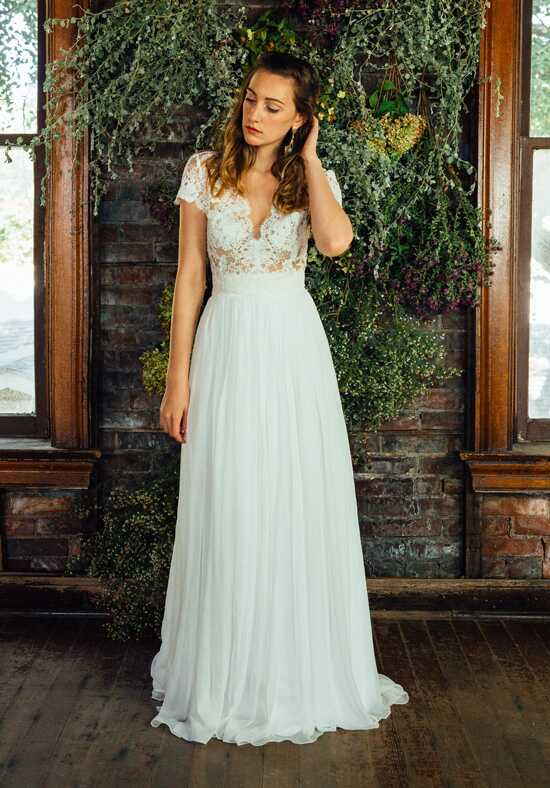Lea-Ann Belter Abigail Top/Lily Skirt A-Line Wedding Dress