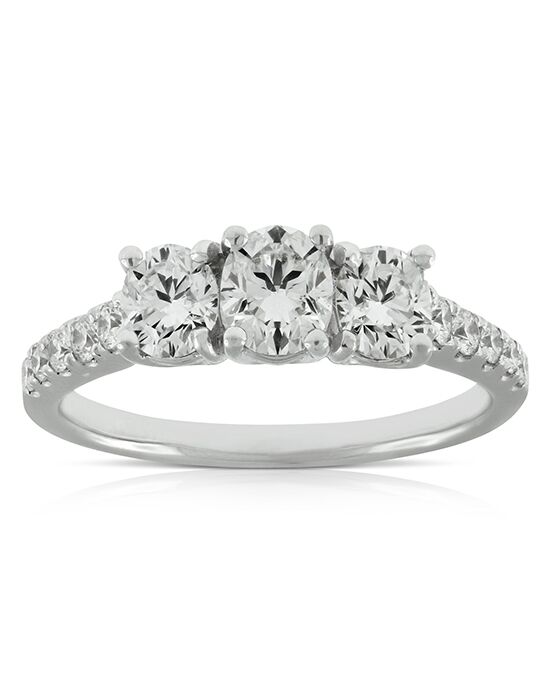 Ben Bridge Jeweler Elegant Round Cut Engagement Ring