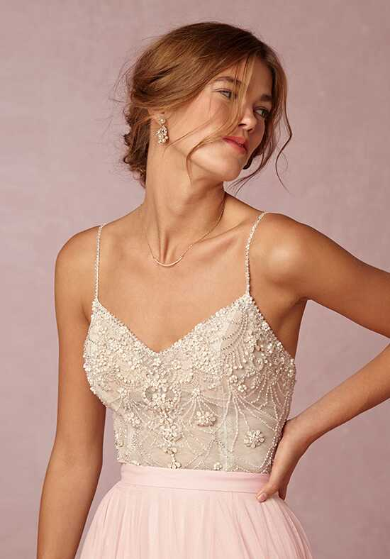 BHLDN Ella Bodysuit & Amora Skirt A-Line Wedding Dress