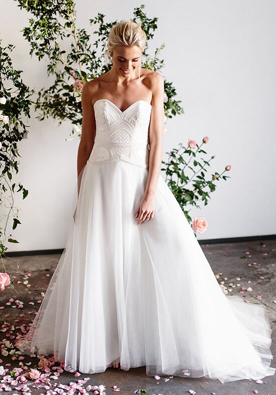 KAREN WILLIS HOLMES Olivia A-Line Wedding Dress