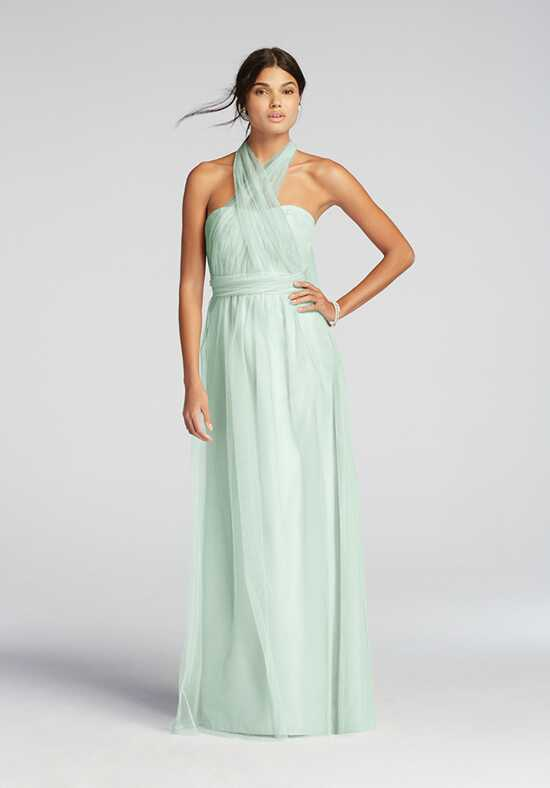 David's Bridal Collection David's Bridal Style F19114 Halter Bridesmaid Dress