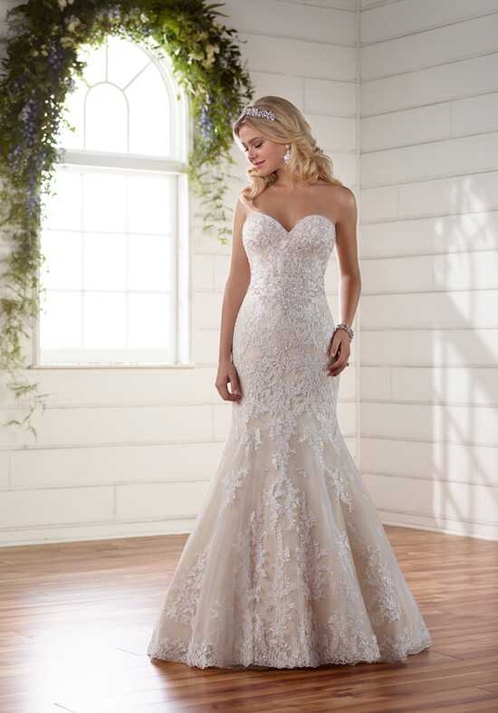 Essense of Australia D2267 Mermaid Wedding Dress