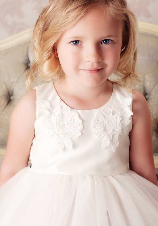 FATTIEPIE Julia Ivory Flower Girl Dress