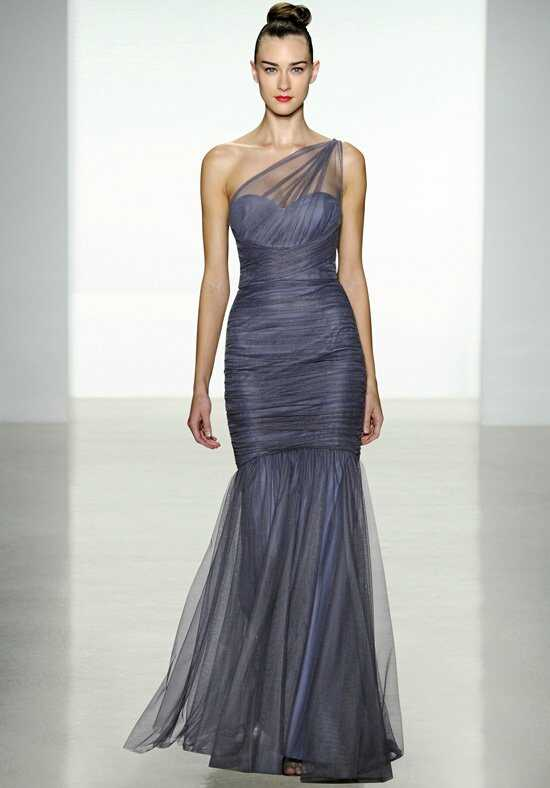 Amsale Bridesmaids G833U One-Shoulder Bridesmaid Dress