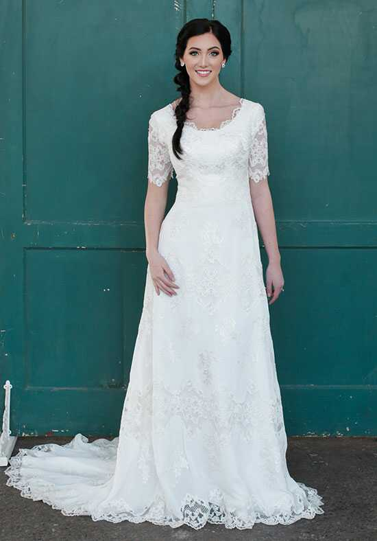 Modest by Mon Cheri TR21853 A-Line Wedding Dress