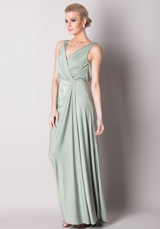 White Runway Bridgette Dress Bridesmaid Dress - The Knot