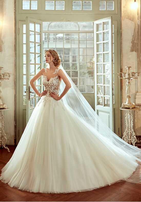 Nicole 2017 Collection NIAB17135 Ball Gown Wedding Dress