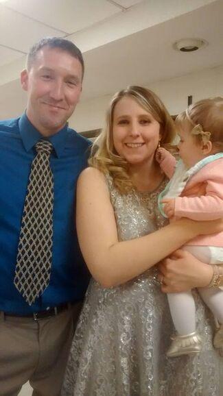 Courtney Hall And Adam Booms Wedding Photo 1