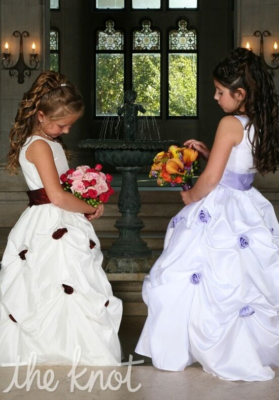 Sweetie Pie Collection 390 Purple Flower Girl Dress