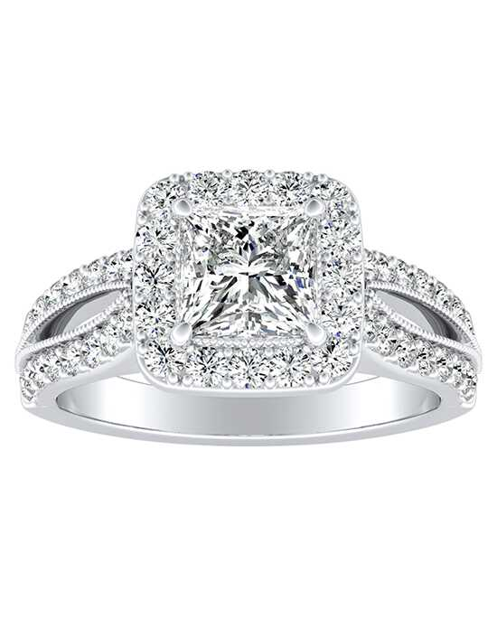 DiamondWish.com Glamorous Princess, Asscher, Cushion, Pear, Round, Oval Cut Engagement Ring