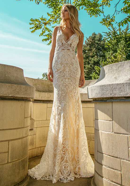Calla Blanche 18107 Dani Rose Mermaid Wedding Dress