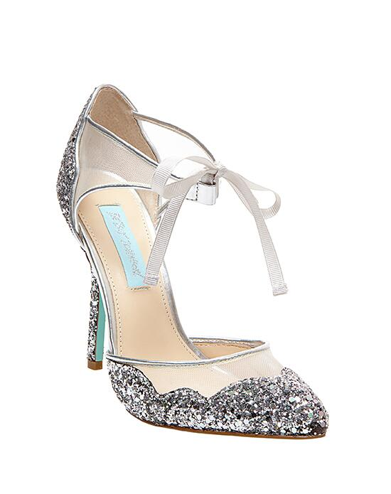 Blue by Betsey Johnson SB-STELA-silver Wedding Shoes photo