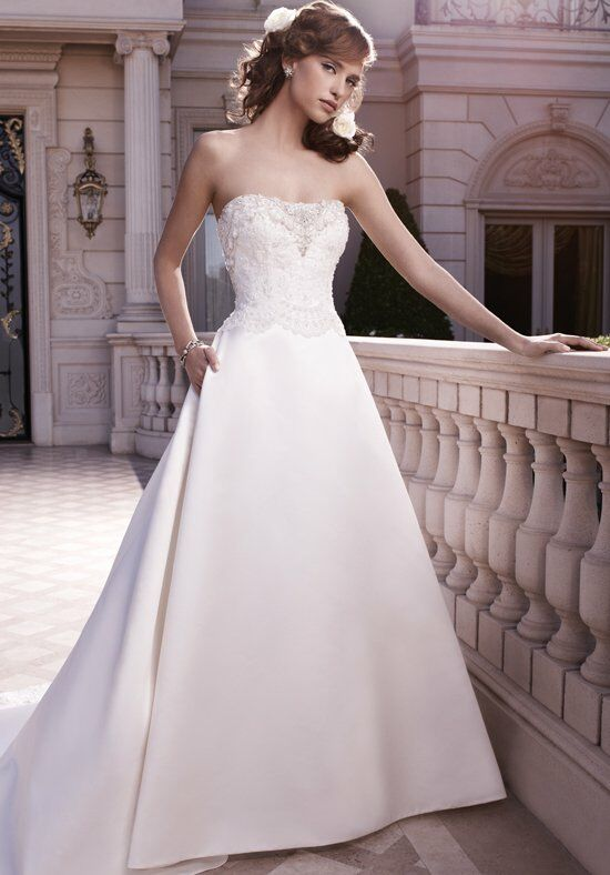 Casablanca Bridal 2130 Ball Gown Wedding Dress