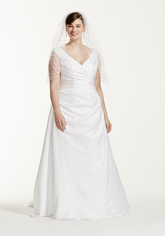 David's Bridal David's Bridal Collection Style 9T9861 A-Line Wedding Dress