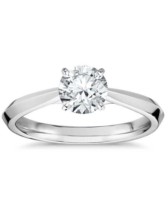 Truly Zac Posen Round Cut Engagement Ring