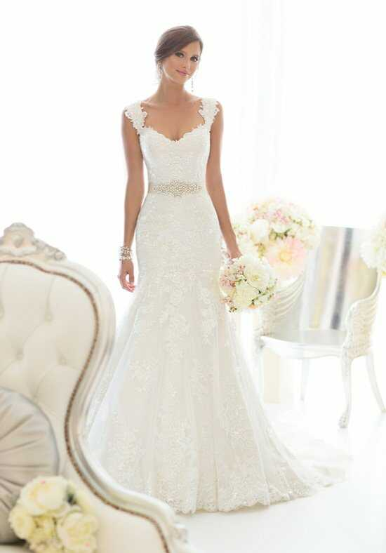 Essense of Australia D1617 Mermaid Wedding Dress