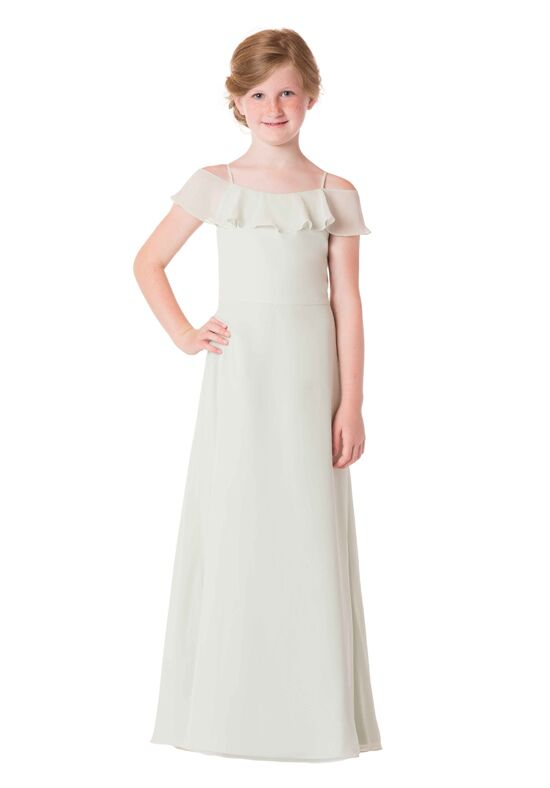 Bari Jay Bridesmaids 1730-JR Off the Shoulder Bridesmaid Dress