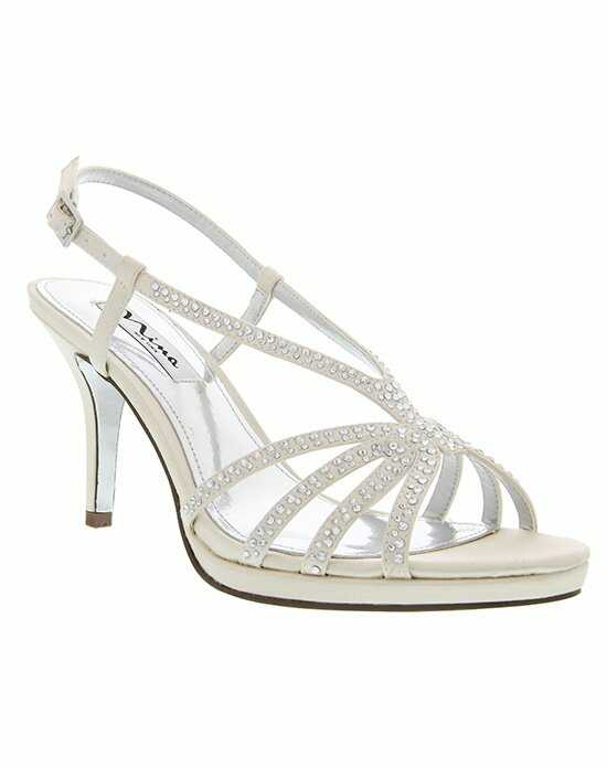 Nina Bridal Wedding Accessories BOBBIE_IVORY Ivory Shoe