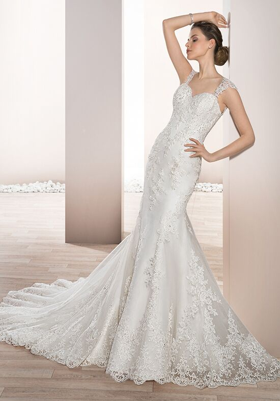 Demetrios 685 Sheath Wedding Dress