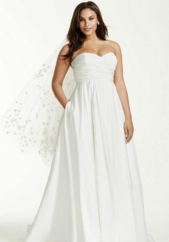 David's Bridal David's Bridal Woman Style 9WG3707 Ball Gown Wedding Dress