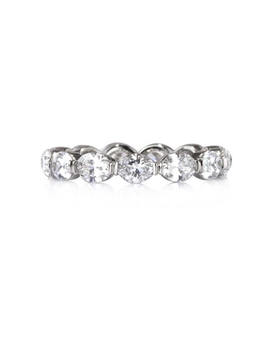 Mark Broumand 2.60ct Oval Cut Diamond Eternity Band in 18k Item # 4375-1 Platinum Wedding Ring