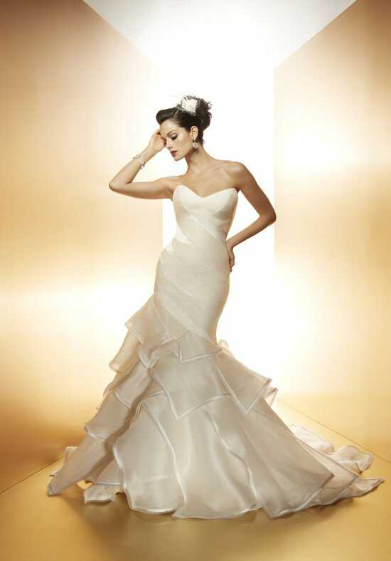 Matthew Christopher Tiger Lily Wedding Dress