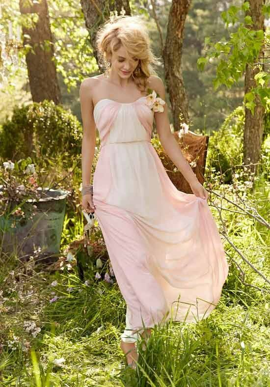 Hayley Paige Occasions 5357 Strapless Bridesmaid Dress
