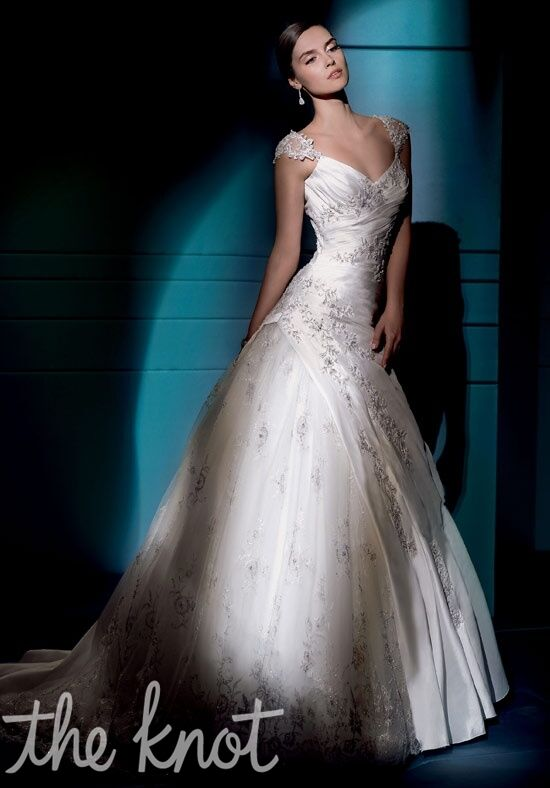 Demetrios 4275 A-Line Wedding Dress