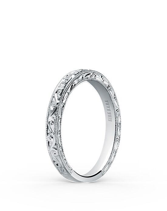 Kirk Kara Stella Collection K160EN-B White Gold Wedding Ring