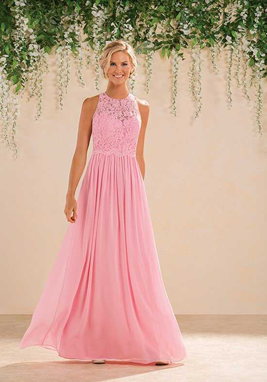 B2 by Jasmine B183017 Halter Bridesmaid Dress