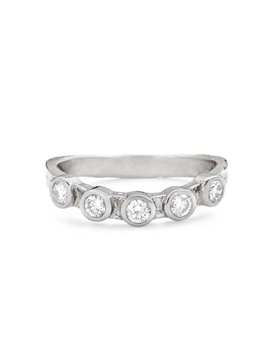 Platinum Jewelry Karen Karch-Curved grace band Platinum Wedding Ring