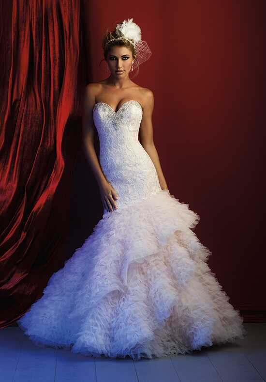 Allure Couture C372 Mermaid Wedding Dress