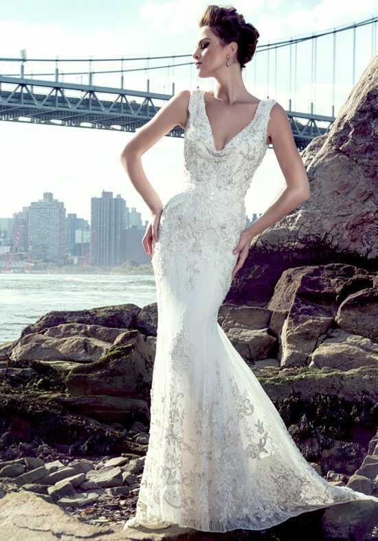 Stephen Yearick KSY86 Sheath Wedding Dress