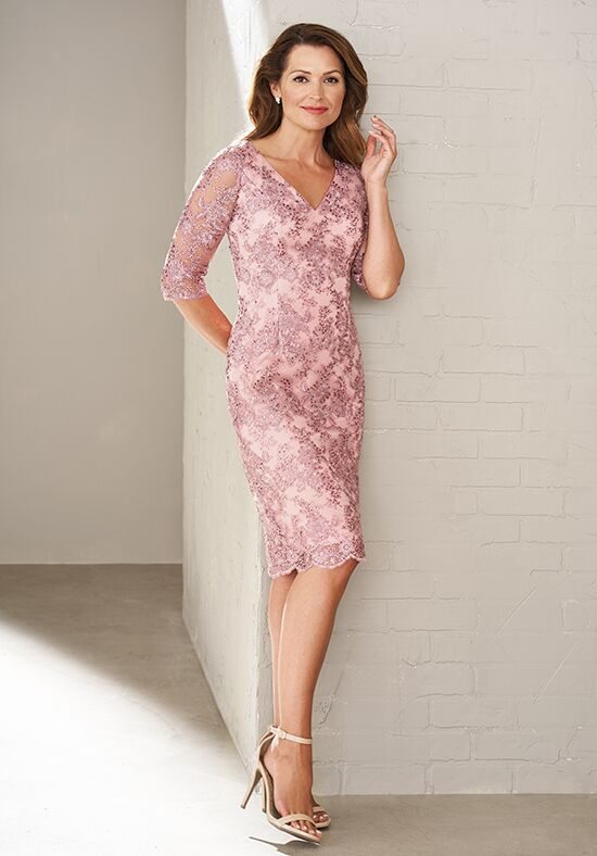 Jasmine Black Label M200009 Pink Mother Of The Bride Dress