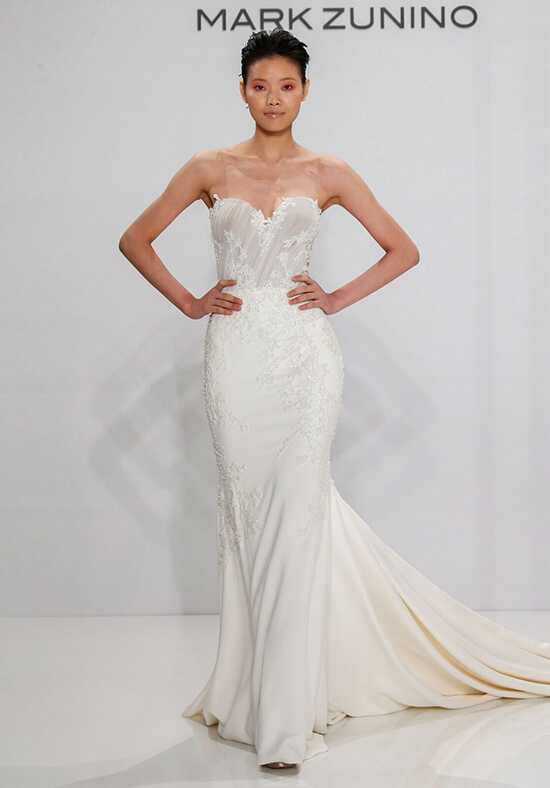 Mark Zunino for Kleinfeld 200 Sheath Wedding Dress