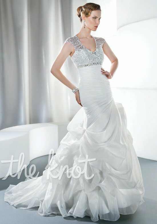 Demetrios 3184 Mermaid Wedding Dress